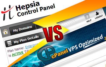 Hepsia versus cPanel Control Panel