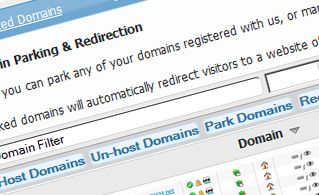 Hepsia Domain Manager and Parking