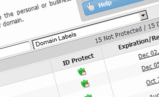 Hepsia Domain Manager ID Protection